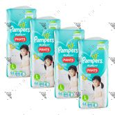 Pampers Baby-Dry Pants (JP) Large 44s x4Packs