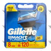 Gillette Mach 3 Turbo Dispenser 3d 8s