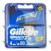Gillettte Mach 3 Turbo Dispenser 3D 4s