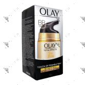 Olay Total Effects Touch Of Foundation Day Cream SPF 15 50g