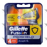 Gillette Fusion Proshield Cartridge 4s