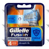 Gillette Fusion Proshield Chill Cartridges 4s