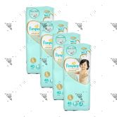 Pampers Premium Care Tape Diapers Large 40S (1Carton=4Pack)