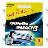 Gillette Mach 3 Dispenser 4s