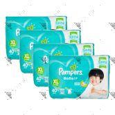 Pampers (JP) Baby-Dry Diapers XL 40s (1Carton=4pack)