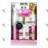 Pantene Super Moist Smooth Shampoo 500ml + Conditioner 500g Set + Sample FOC