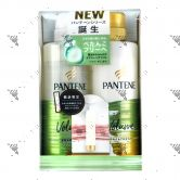 Pantene Micellar Volume Cleanse Shampoo 500ml + Conditioner 500g Set + Sample FOC