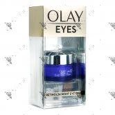 Olay Eyes Retinol24 Night Eye Cream 15ml