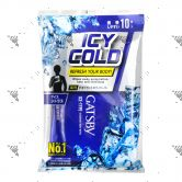 Gatsby Ice-Type Deodorant Body Paper 10s