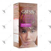 Gatsby Hair Color Clear Brown