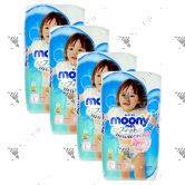 Moony Air Fit Pants For Girls L 44s (1Carton=4pack)