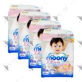 Moony Air Fit Diaper M64s Tape (1Carton=4pack)