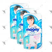 Moony Air Fit Pants For Girls XXL26s (1Carton=3pack)