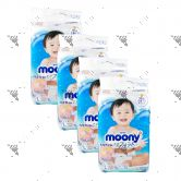 Moony Air Fit Diaper L54s Tape (1Carton=4pack)