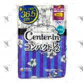 Center-In Compact 1/2 Night Wings Unscented 36.5cm 10s
