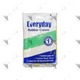 Everyday Rubber Gloves (1pair) Large Size