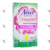 Nair Nourish 7-in-1 Ultra Body Wax Strips 20s