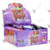 Bazooka Ring Pop Hard Candy 1Box 3 Flavours (24x10g)