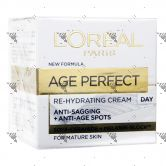 L'Oreal Age Perfect Re-Hydrating Cream 50ml Day