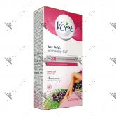 Veet Wax Strips Kit For Body & Legs 40s + 4 Wipes