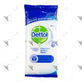 Dettol Anti Bacterial Cleansing Surface Wipes 20s