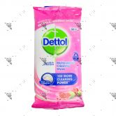 Dettol Multipurpose Cleansing Wipes 32s Pomegranate & Lime Splash