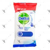 Dettol Anti-Bacterial Cleansing Surface Wipes 30s