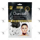 Beauty Formulas Charcoal Detoxifying Bubble Mask 1s