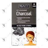 Beauty Formulas Charcoal Cleansing Nose Pore Strip 6s