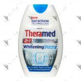 Theramed 2in1 Toothpaste + Mouthwash 75ml Gel Whitening Power