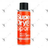 Super Dry Sport Body Spray 200ml Re:Charge
