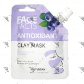 Face Facts Clay Mask Pouch 60ml Antioxidant