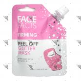 Face Facts Peel Off Glitter Mask Pouch 60ml Firming