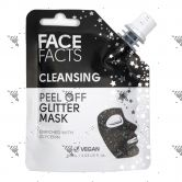 Face Facts Peel Off Glitter Mask Pouch 60ml Cleansing