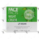 Face Facts 98% Natural Night Cream 50ml