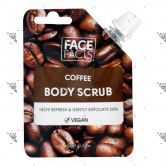 Face Facts Body Scrub Pouch 50g Coffee
