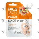 Face Facts Facial Scrub Pouch 60ml Peach