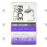 Face Facts Wrinkle Care Gel Eye Patches 4 Pairs