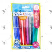 Papermate 8 Erasable Gel Pens + 8 Refills Value Pack