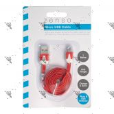 Zenso Android To Micro USB cable 1Metre (Assorted Color)
