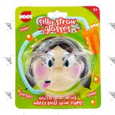 Hoot Silly Straw Glasses for 3years+