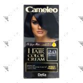 Cameleo Perm Hair Colour Cream 2.0 Blue Black