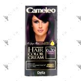 Cameleo Perm Hair Colour Cream 6.26 Aubergine