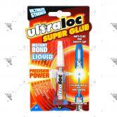 Ultraloc Superglue Instant Bond Liquid 3g