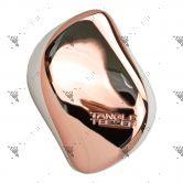 Tangle Teezer Detangling Hairbrush Compact Rose Gold Cream-Smooth&Shine