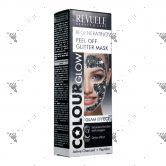 Revuele Regenerating Peel Off Glitter Mask 80ml Black
