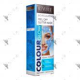 Revuele Bio-Regulating Peel Off Glitter Mask 80ml Blue