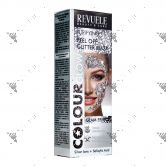 Revuele Purifying Peel Off Glitter Mask 80ml Silver