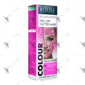 Revuele Rejuvenating Peel Off Glitter Mask 80ml Pink