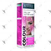Revuele Rejuvenating Peel Off Glitter Mask 80ml Pink